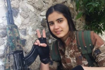 """""""Afrin is not alone"""" And Vian Souren is not alone. For the international women struggle day of 8th March ,all over the world, women go to the streets also for her."""